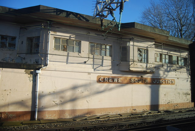 Signal Box, Crewe South Junction