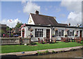 SJ6156 : The Olde Bar Bridge Inn, Cheshire by Roger  Kidd