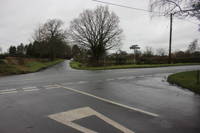 Windyharbour Crossroads, Siddington