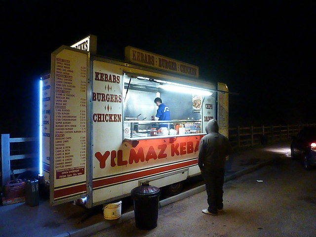 Bristol: Yilmaz Kebabs van on the Ring Road