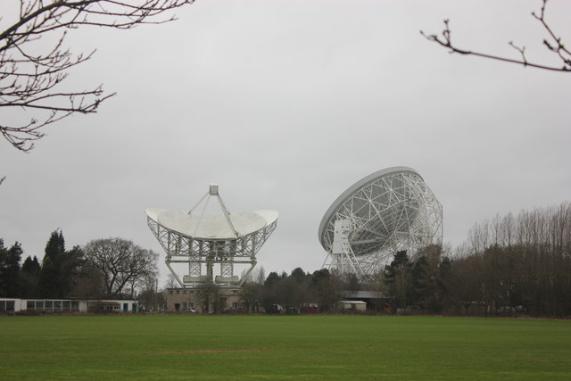 Jodrell Bank - the major dishes