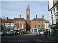 TF3287 : Town Square Louth (2) by Richard Hoare