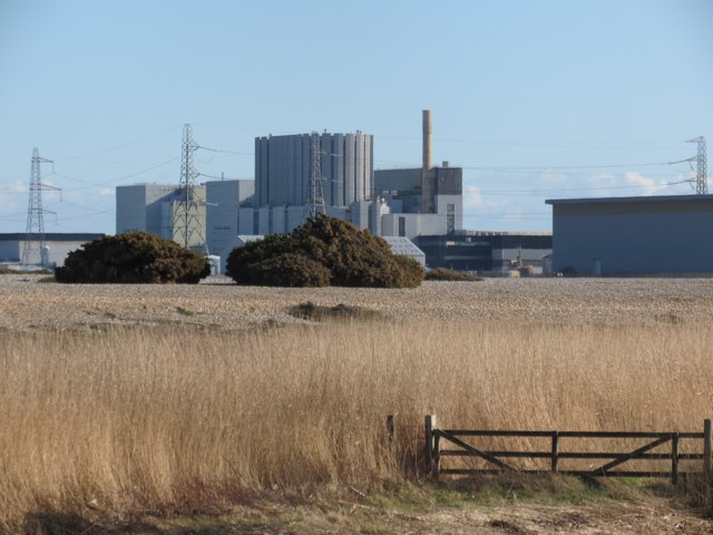 View to Dungeness Power Station