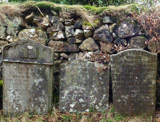 Gravestones, St Michael and All Angels, Princetown, Dartmoor