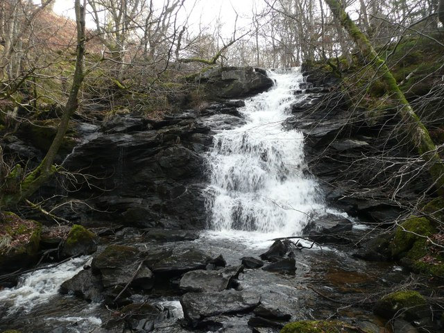 Waterfall on Dowally Burn