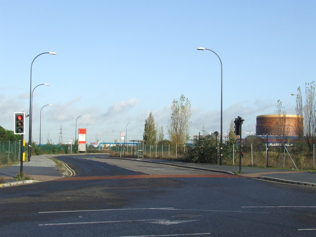 Armada Way, near Gallions Reach