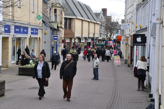 Truro City Centre Lewis Clarke Geograph Britain And