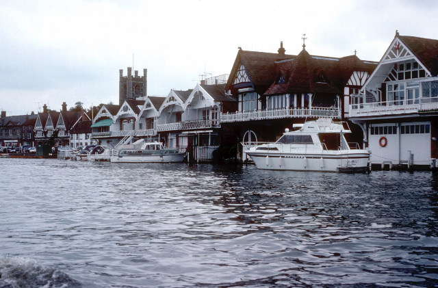 River frontage, Henley on Thames