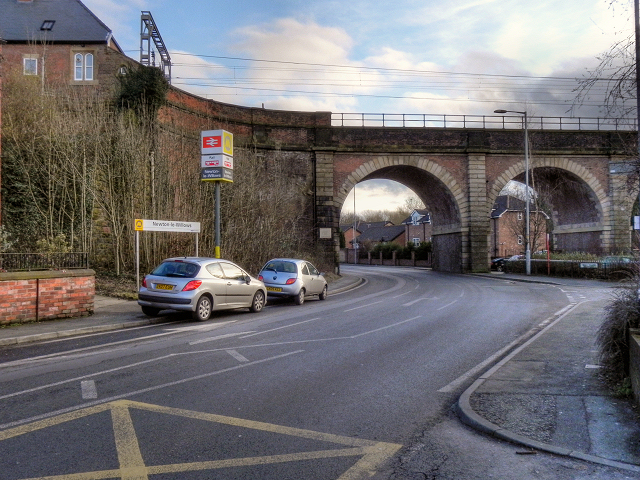 Newton-le-Willows Station and Viaduct