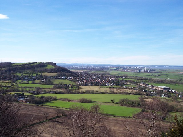 Helsby from the Sandstone Trail