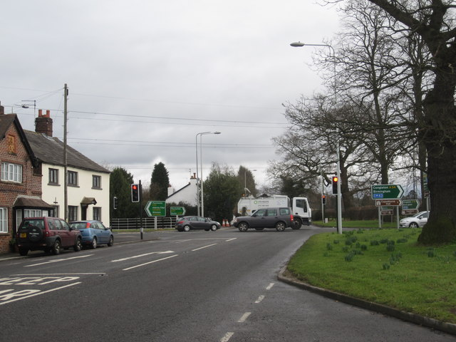 Monk's Heath Crossroads, Nether Alderley