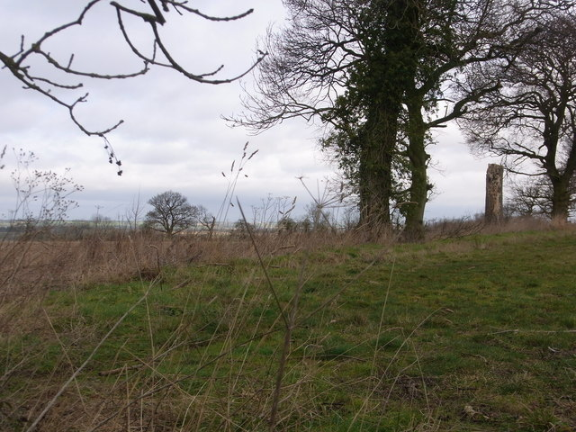 View NW from footpath below Spring Hill