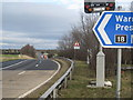 SJ7467 : Northbound access road M6 junction 18 by Peter Turner