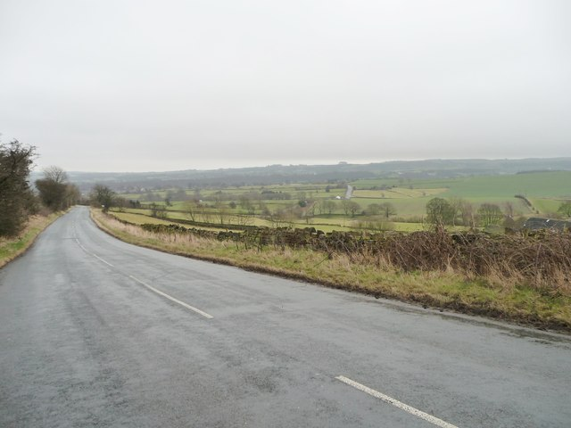 Green Side Road at Farnley Moor End
