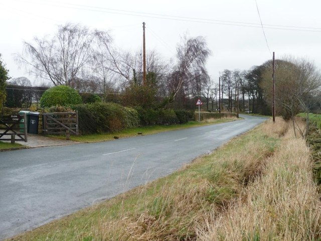 Sopt height on Green Side Road