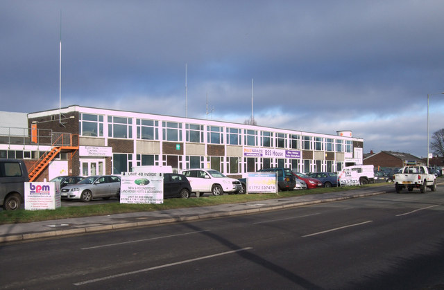 BSS House, Cheney Manor Industrial Estate