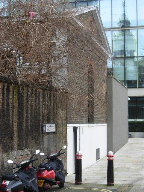 Aldermans Walk, City of London