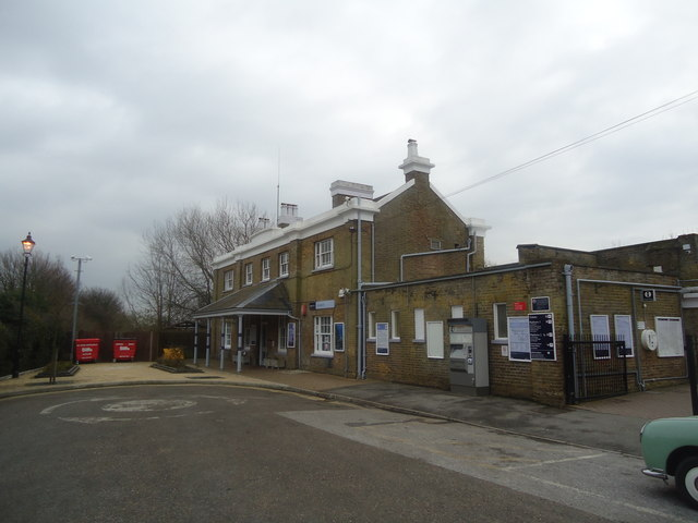 Sandwich railway station