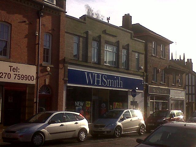 WH Smith, Sandbach High Street