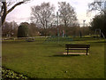 SJ7661 : Sandbach park - new play area by Stephen Craven