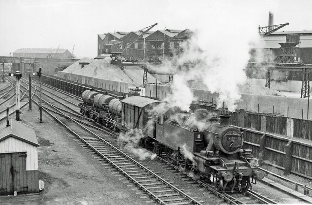 Goods train in Widnes