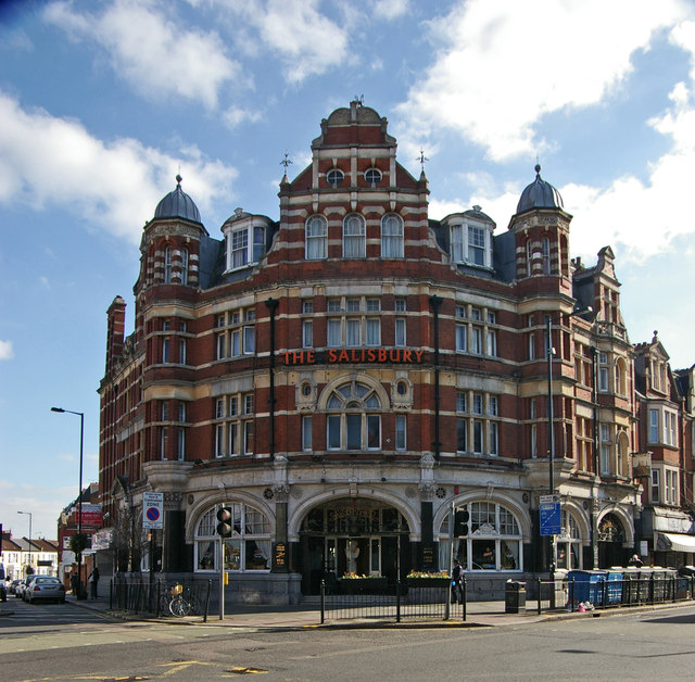 """The Salisbury"" public house, Harringay"