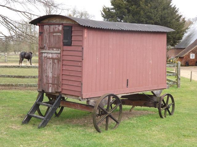 Image gallery shepherd 39 s wagon - The mobile shepherds wagon ...