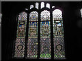 SJ4066 : Chester cathedral: Holy Week window by Stephen Craven