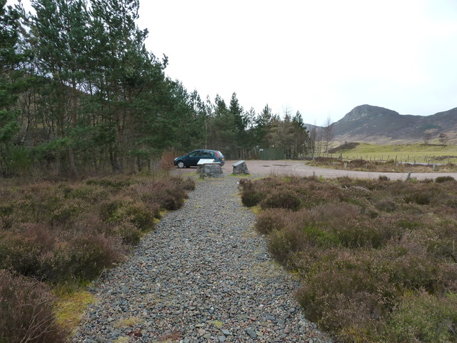 Car Park for Falls of Truim