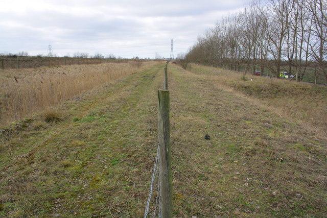 Footpath beside B4016