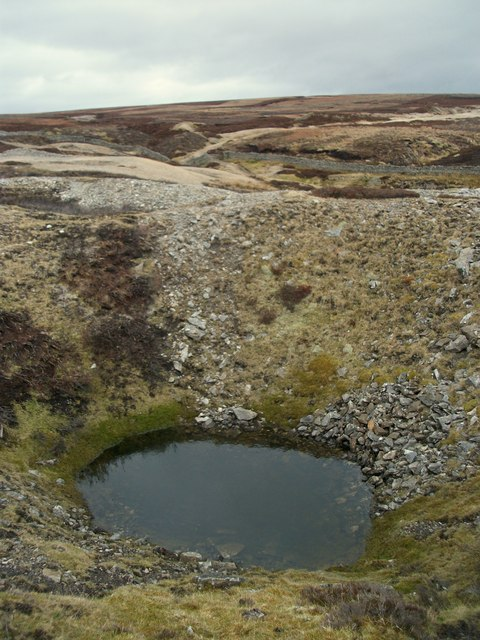 Water Filled Shaft on Fryerfold Rake