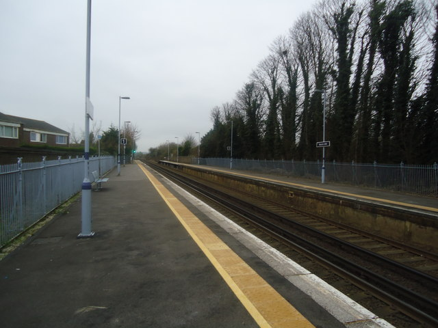 Martin Mill railway station
