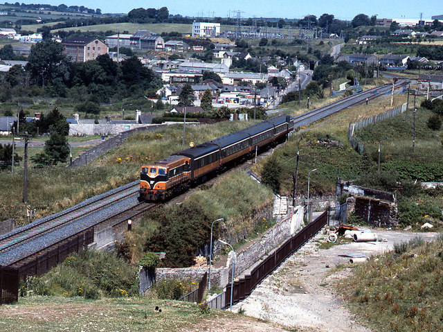Train at Kilbarry