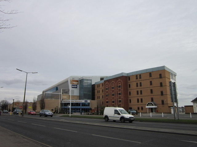 Buildings at Doncaster racecourse