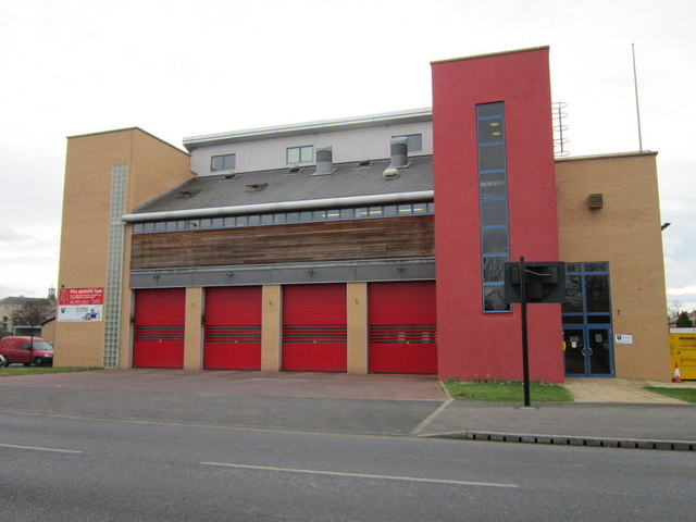 The new Fire Station on Leicester Avenue, Doncaster