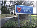 TL8740 : Entering The County Of Essex by Keith Evans