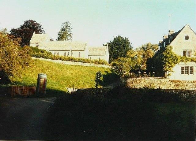 Duntisbourne Abbots in 1985