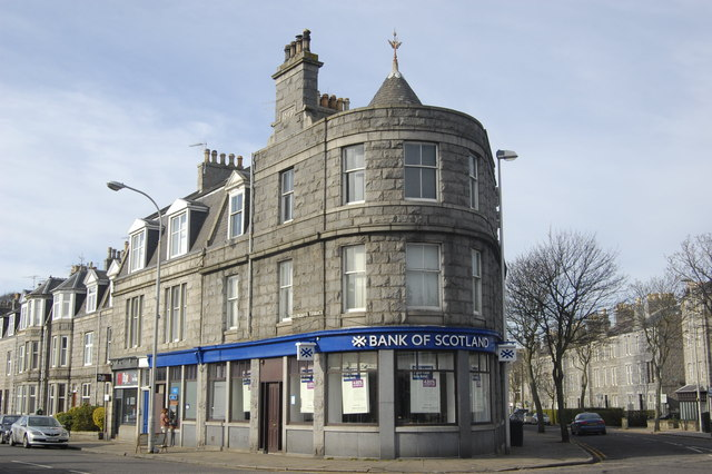 Bank of Scotland, Rosemount Branch, Aberdeen