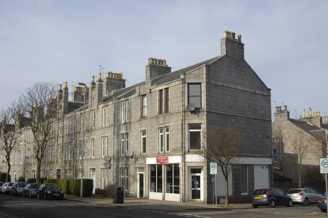Suburban terrace, Aberdeen style