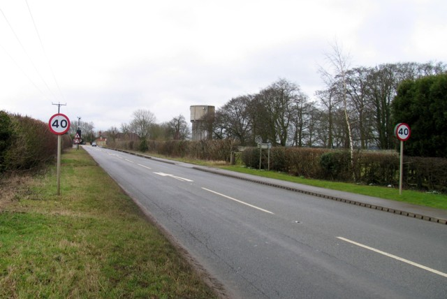 Cottesmore Road at Birley