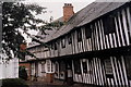 SP0957 : Medieval houses, Malt Mill Lane, Alcester by nick macneill