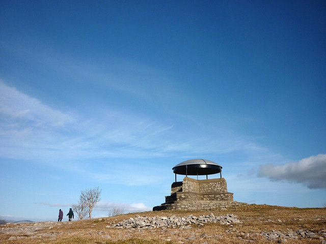 The Mushroom Shelter on Scout Scar