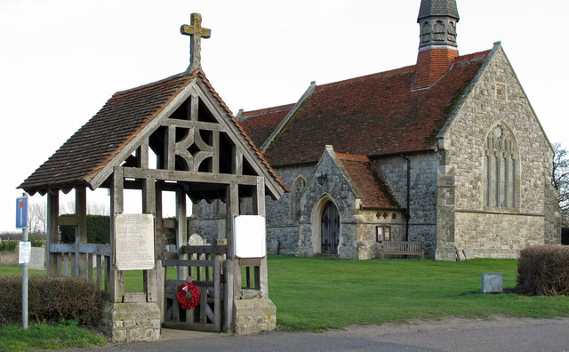 Lych Gate at St Lawrence