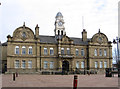 SE2720 : Ossett - Town Hall by Dave Bevis
