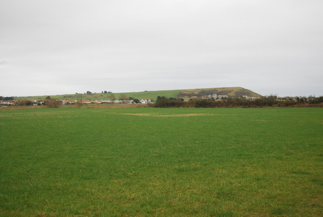 Farmland in the Brit Valley