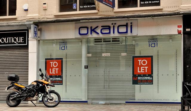 """""""To let"""" shops, Belfast (2)"""
