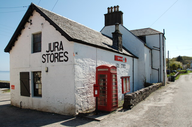 Jura Stores, Craighouse, Isle of Jura
