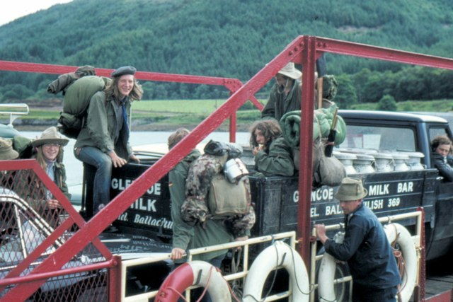 Ballachulish Ferry - 1973