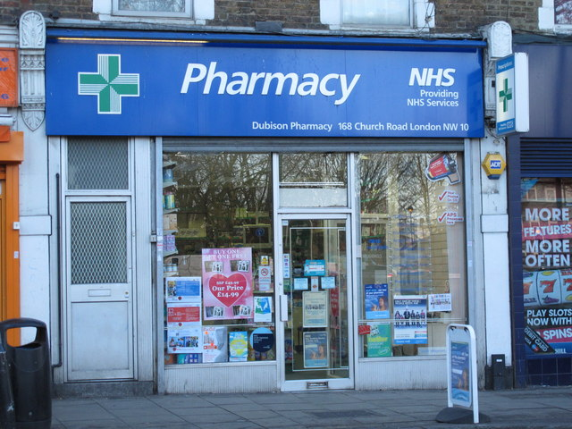 Dubison Pharmacy, 168 Church Road, NW10