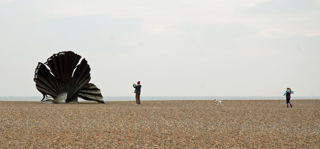 Aldeburgh Scallop Sculpture